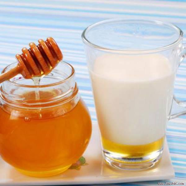 Sữa nóng và mật ong