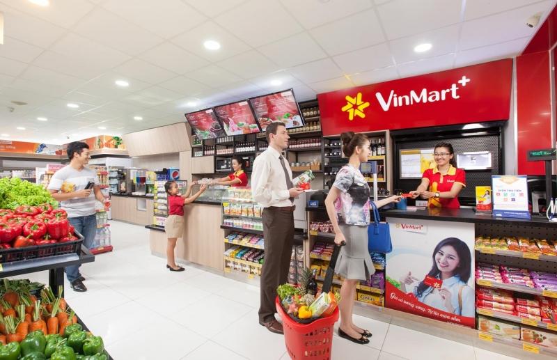 """Chuỗi cửa hàng tiện lợi Vinmart+ hoạt động với phương châm """"Vì chất lượng cuộc sống của mọi nhà"""""""