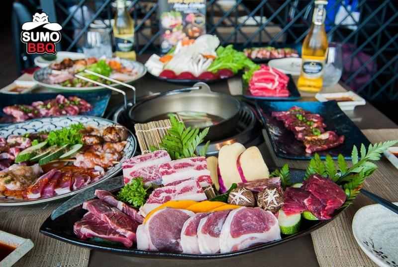 Top 15 chuỗi nhà hàng buffet lẩu nướng ngon nhất Hà Nội