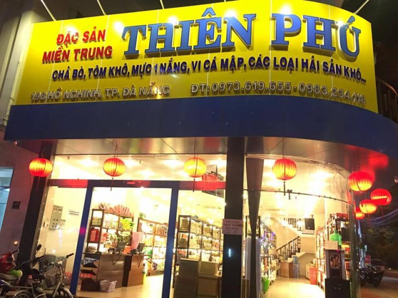 Chuỗi siêu thị đặc sản Thiên Phú - địa chỉ mua thịt bò khô ngon nhất Đà Nẵng