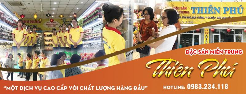 Chuỗi siêu thị đặc sản Thiên Phú