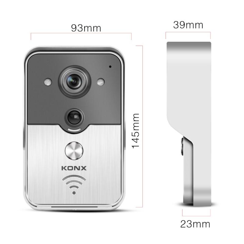 Chuông cửa camera kết nối điện thoại KW01