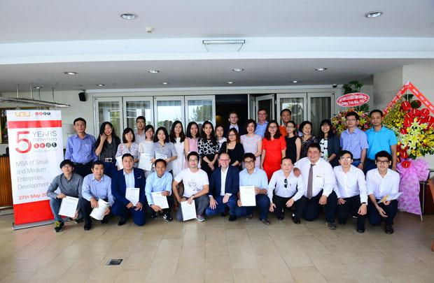 Chương trình học MBA của Đại học Việt Đức