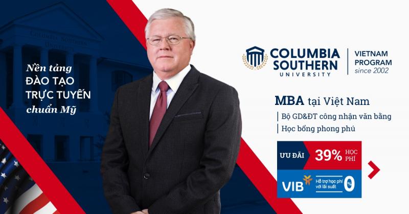 Chương trình học MBA Online của trường Đại học Nam Columbia (CSU)