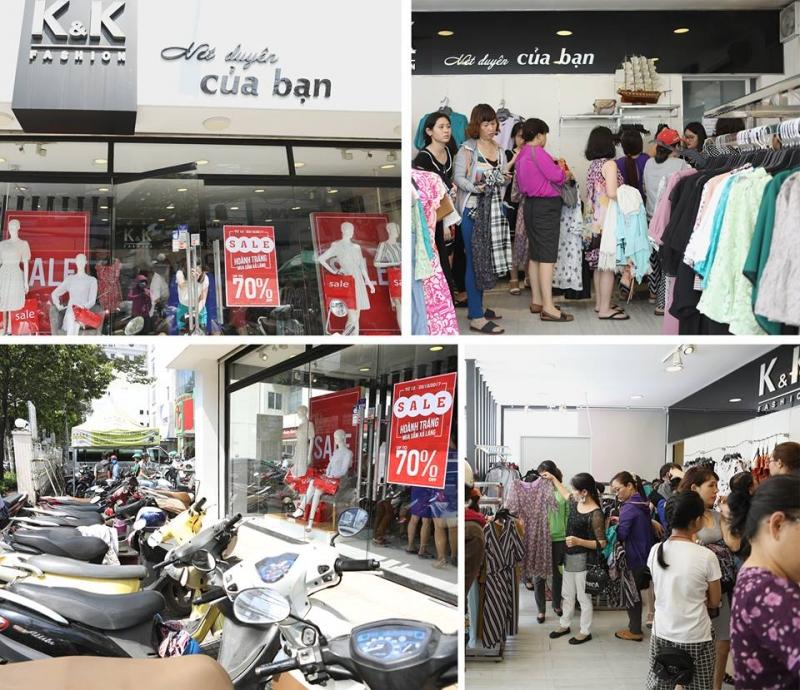 Chương trình khuyến mãi 20/10 của K&K Fashion