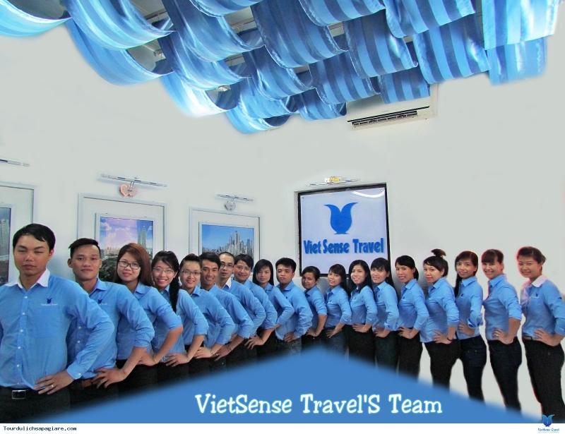 Chương trình khuyến mãi 30/4 - 1/5/2017 của VietSense Travel