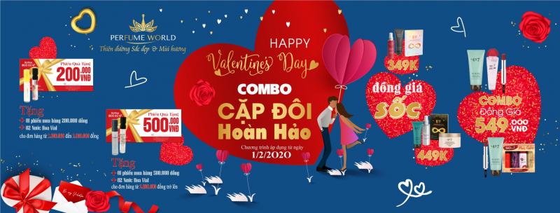 Top 4 Chương trình khuyến mãi valentine 14/2/2020 hấp dẫn nhất