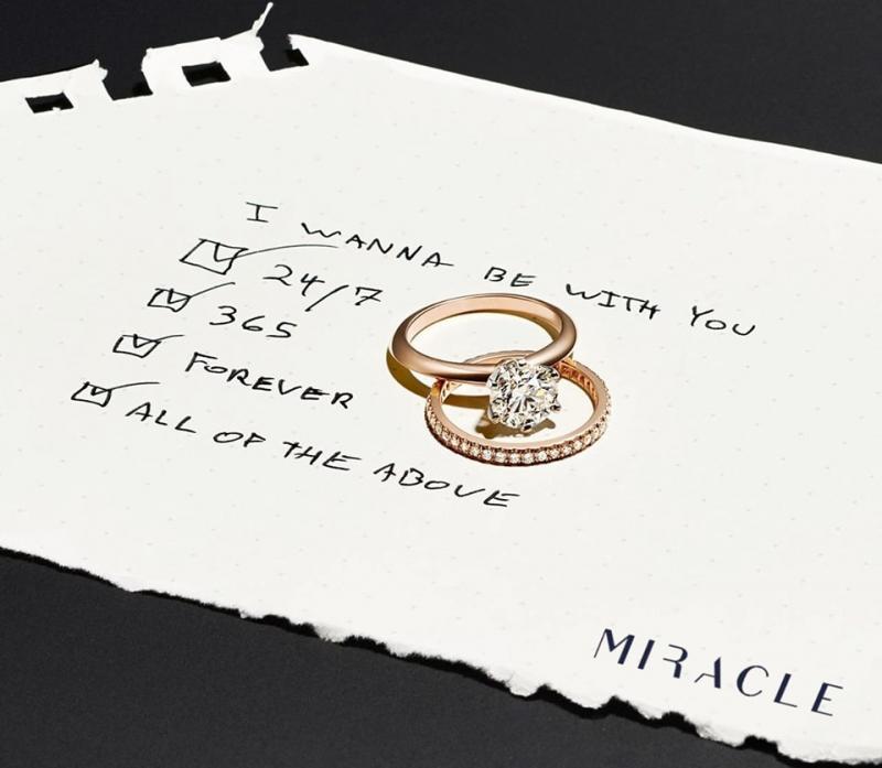 Chương trình khuyến mãi valentine của Miracle Diamond & Jewelry
