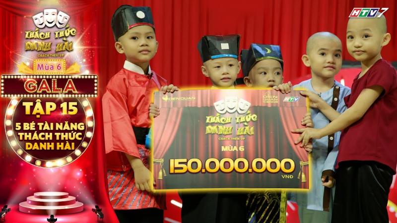 Năm chú tiểu Bồng Lai là những thí sinh được yêu thích nhất của chương trình