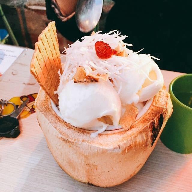 Chuông Vàng Kem Dừa - Coffee