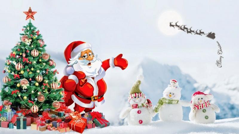 Một mùa giáng sinh vui vẻ, hạnh phúc