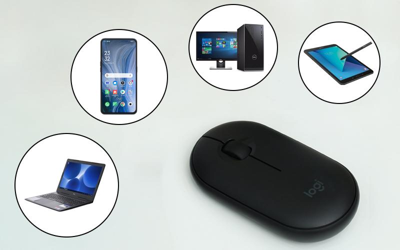 Chuột Bluetooth Silent Logitech Pebble M350