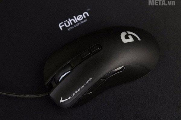 Chuột game Fuhlen G90 Pro thiết kế với 7 nút bấm