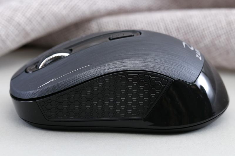 Chuột không dây ZADEZ M325 Tuxedo Black