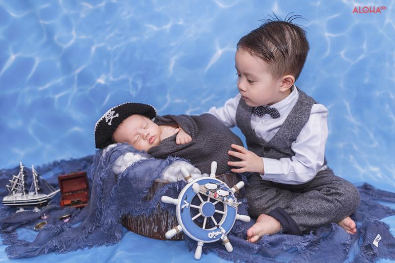 Chụp Ảnh Cho Bé - ALOHA Baby Studio