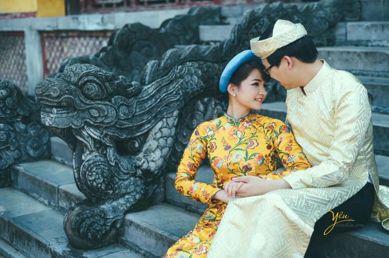 Ảnh chụp tại Hoàng Thành Thăng Long - yeumedia.vn