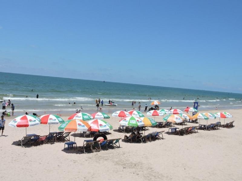 Bãi biển Vũng Tàu xinh đẹp.