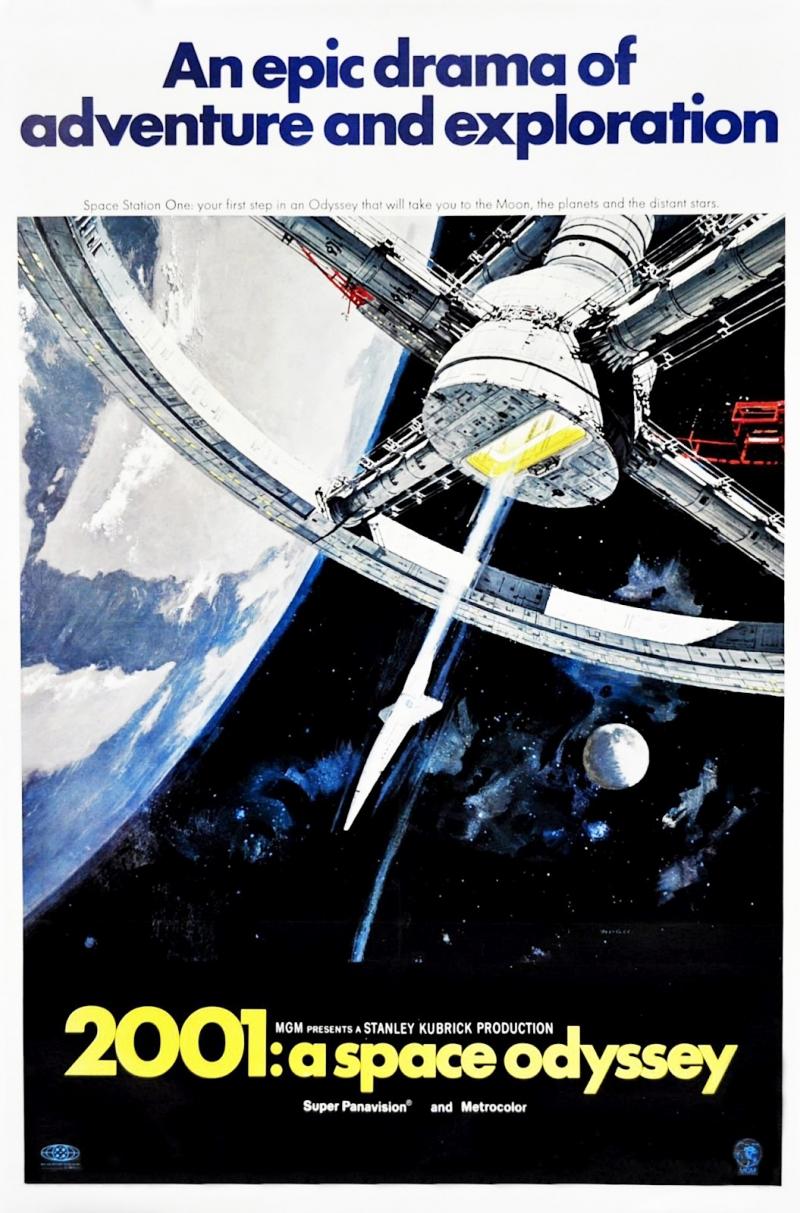 Poster 2001: A Space Odyssey năm 1968