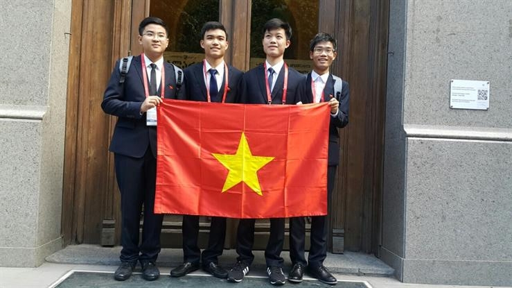 Đoàn thể thao Việt Nam tại  Olympic Hoá học quốc tế