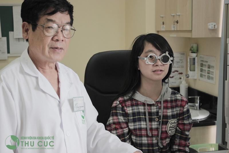 Chuyên khoa mắt Bệnh viện Đa Khoa Quốc Tế Thu Cúc