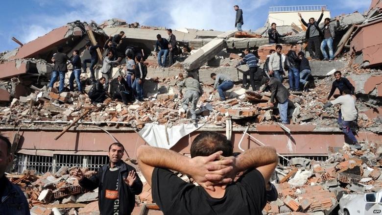 Trận động đất kinh hoàng xảy ra vào thứ 6 ngày 13 ở Thổ Nhĩ Kì