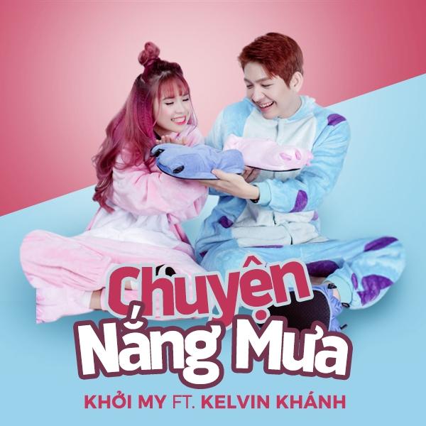 Hình ảnh siêu dễ thương của bộ đôi Khởi My - Kelvin Khánh