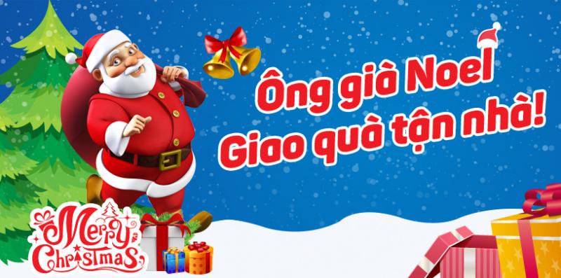 Ông già Noel đi giao quà (ảnh minh họa)