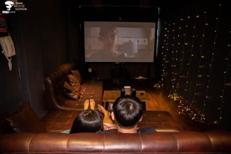 Phòng chiếu rộng rãi tại Cine 2