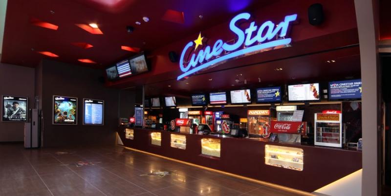 CineStar có mặt tiền rộng lớn tại đường Nguyễn Trãi, Quận 1