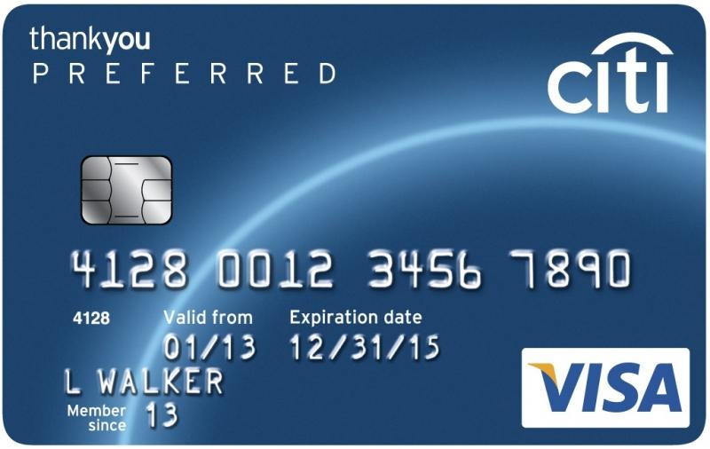 Thẻ tín dụng của ngân hàng Citibank