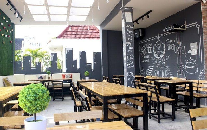 Không gian cự thoáng tại City Fox Bistro Cafe