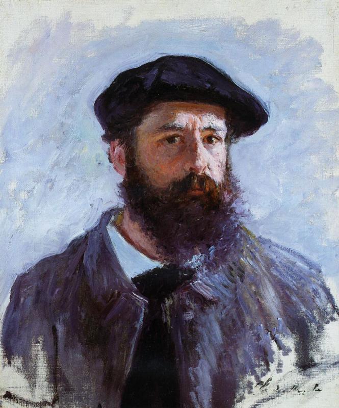 Tự hoạ của Claude Monet