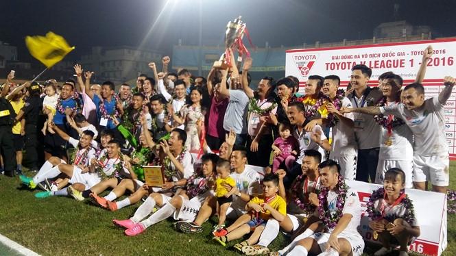 Chức vô địch V-League lần thứ 3 của đội bóng thủ đô.