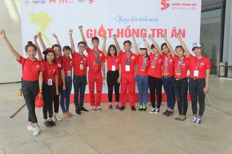CLB Sinh viên Vận động Hiến máu Tình nguyện
