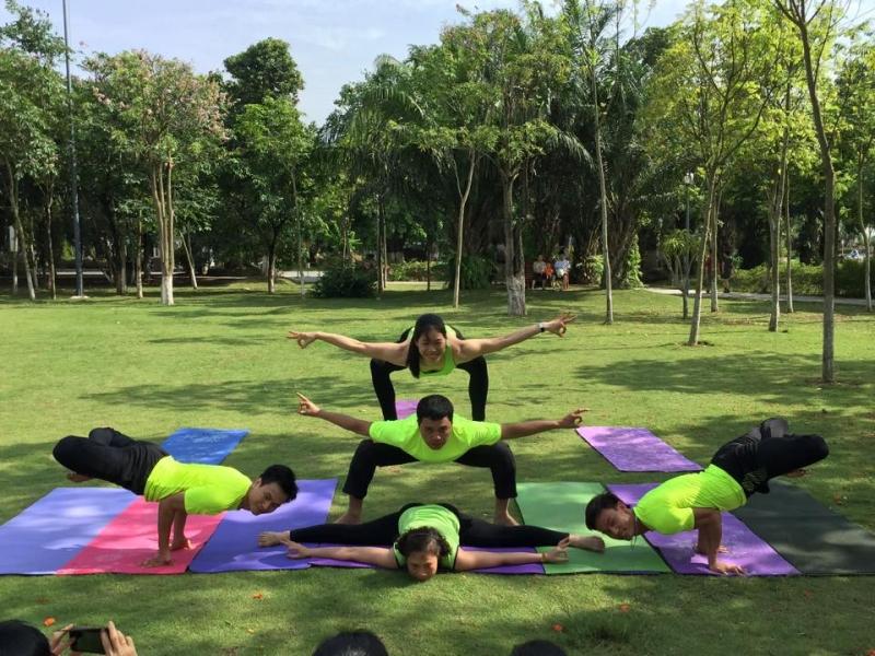 CLB Yoga UNESCO Hà Nội