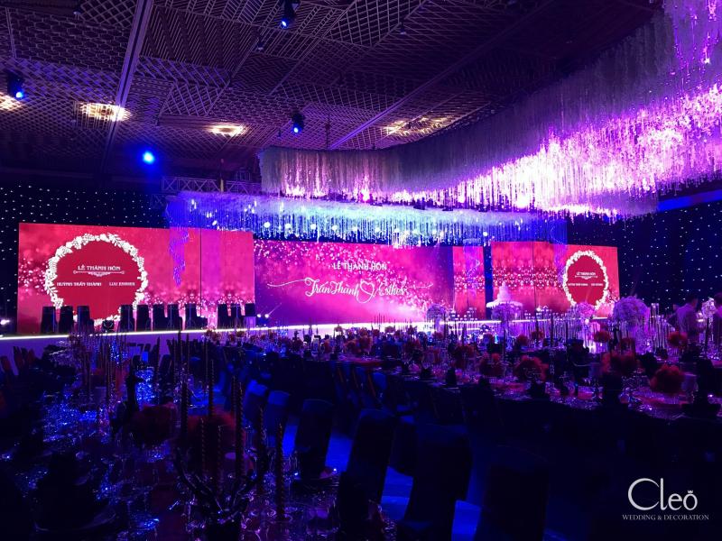 Cleo Wedding & Decoration là đơn vị tổ chức, trang trí tiệc cưới hỏi được biết đến với đám cưới thế kỉ của Trấn Thành - HariWon