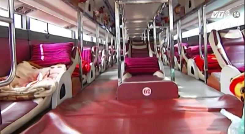 Xe giường nàm khi bạn đặt tại Website Click1bus.com