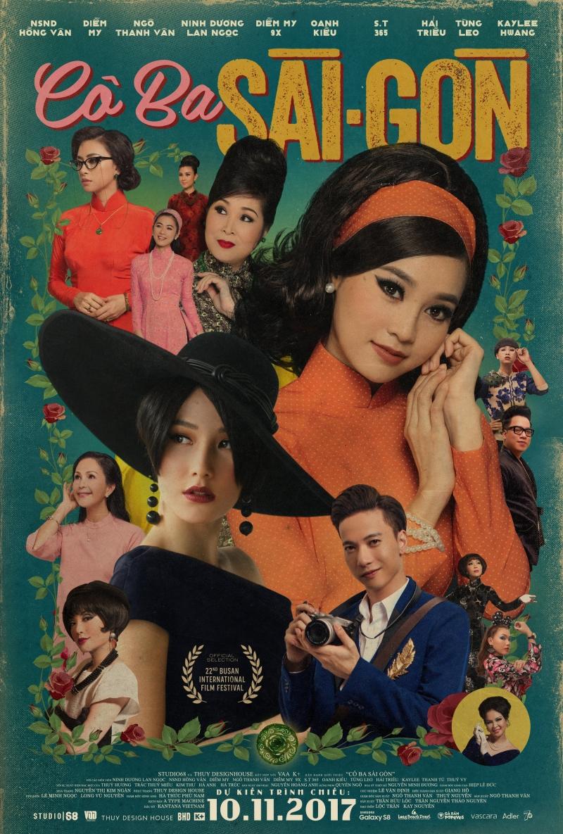 Poster chính thức Cô Ba Sài Gòn