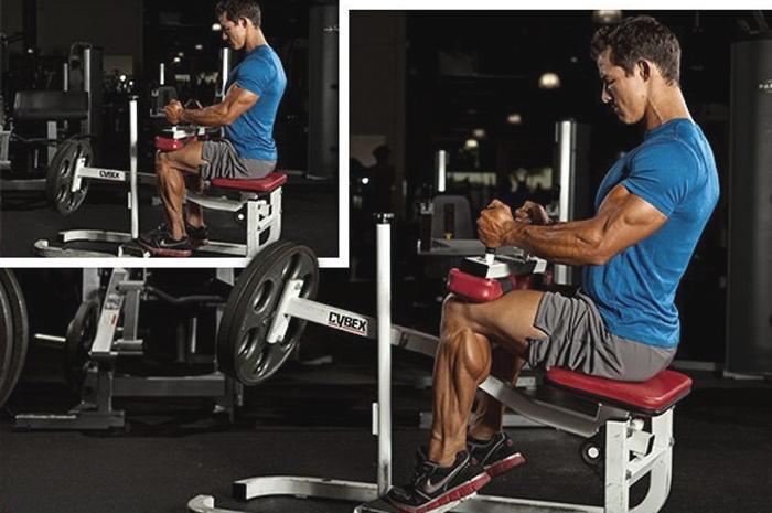 Cơ bắp chân là một trong các nhóm cơ khó tập ở nam giới