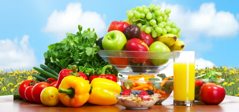 Có chính sách dinh dưỡng lành mạnh và bữa ăn có nhiều màu sắc