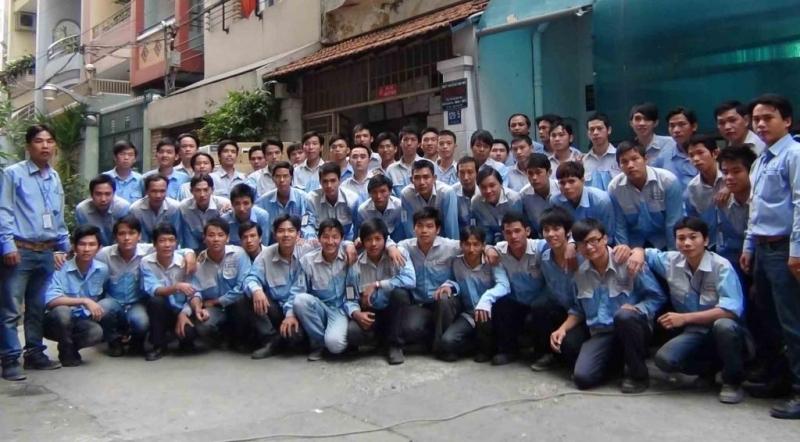 Đội ngũ nhân viên cơ điện lạnh Đông Sapa