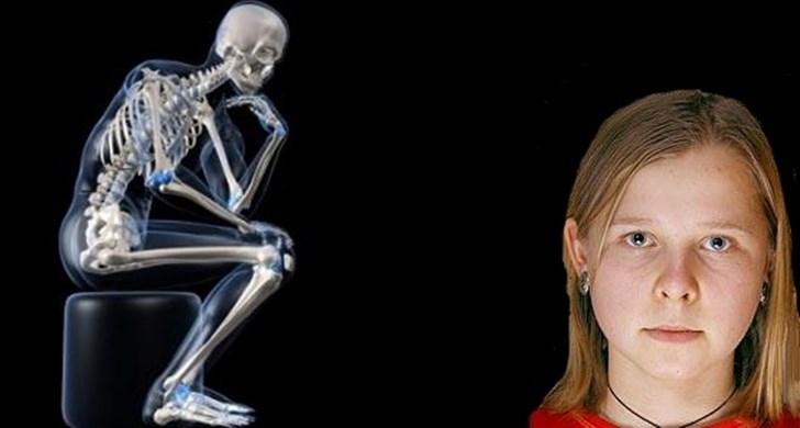Cô gái nhìn bằng tia X - quang