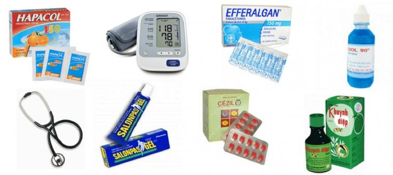 Một số loại thuốc cơ bản cần thiết