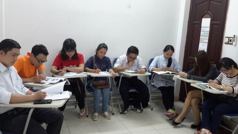 Lớp học của cô Kiều Oanh.