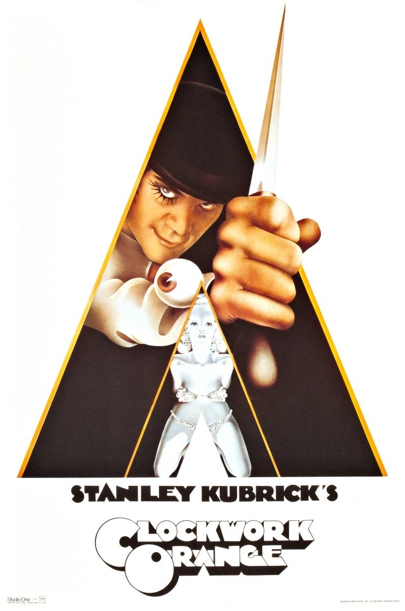 Poster phim A Clockwork Orange