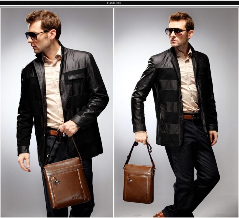 Gọn gàng, tiện lợi, năng động - Chiếc túi quá hợp với các cho các chàng hơi nấm lùn