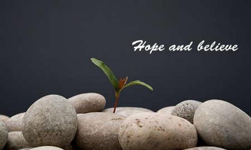 Niềm tin là cái khởi đầu cho các thành công