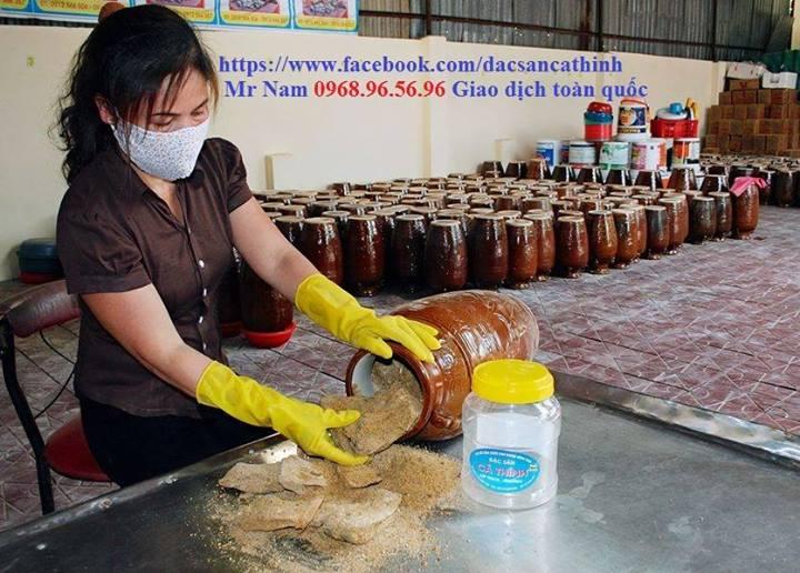Đặc sản cá thính Giang Nam