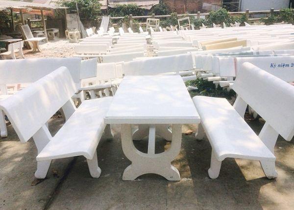 Cơ sở sản xuất ghế đá Quang Long