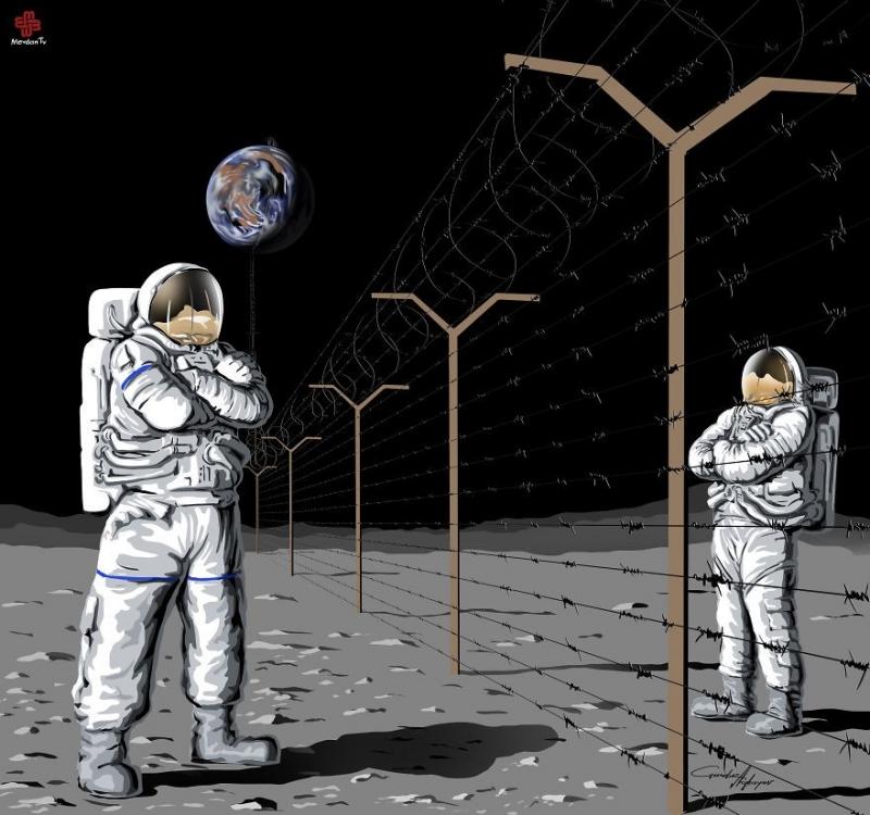Nếu tôi mà lên sao Hỏa, cô...